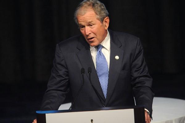 O ex-presidente dos EUA George W. Bush (Foto: Getty Images)