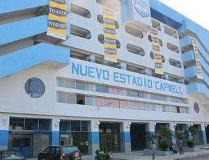 estádio George Capwell, em Guayaquil (Foto: Carlos Augusto Ferrari / Globoesporte.com)