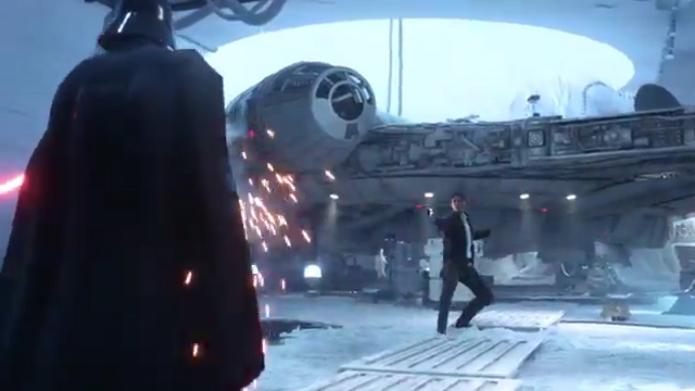 Star Wars Battlefront ganhou primeiro trailer mostrando a dublagem em português (Foto: Reprodução/YouTube)