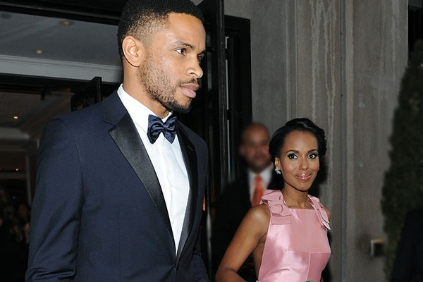 Kerry Washington e Nnamdi Asomugha (Foto: Getty Images)
