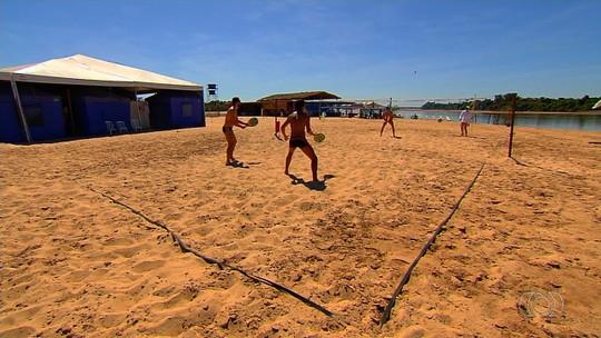 Comerciantes lucram com o turismo na alta temporada do Rio Araguaia
