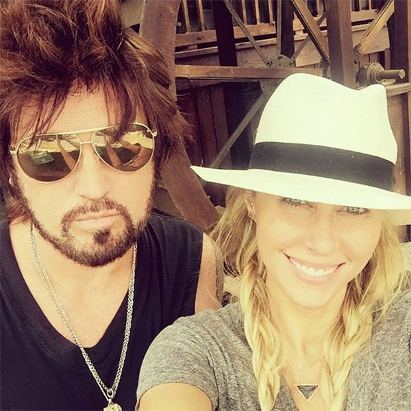 Billy Ray Cyrus e Tish Cyrus (Foto: Instagram)