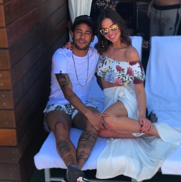 Neymar e Bruna (Foto: Reprodução/ Instagram)