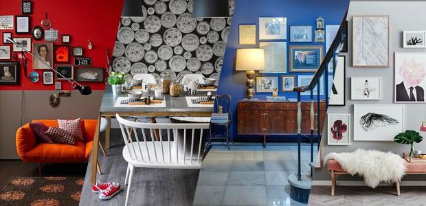 6a68a01f5c5 20 ideias fáceis e charmosas para decorar a parede - Casa Vogue ...