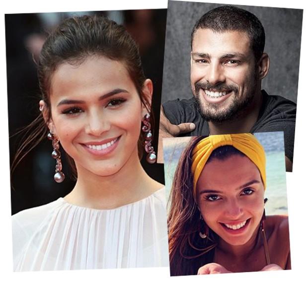 Bruna Marquezine, Cauã Reymond e Giovanna Lancelotti (Foto: Reprodução / Instagram)