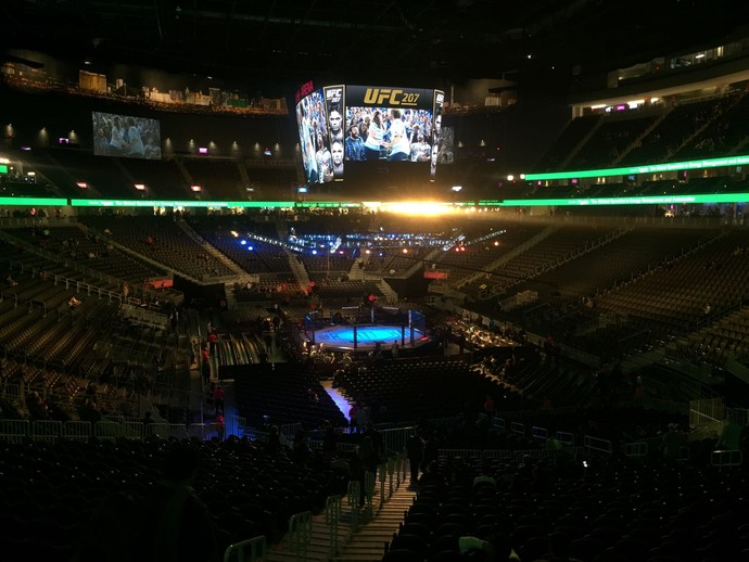 T-Mobile Arena UFC 207 (Foto: Evelyn Rodrigues)