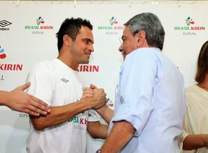 Ala Falcão com o prefeito de Sorocaba, Antônio Carlos Pannunzio (Foto: Gilson Hanashiro / Ag. Bom Dia)