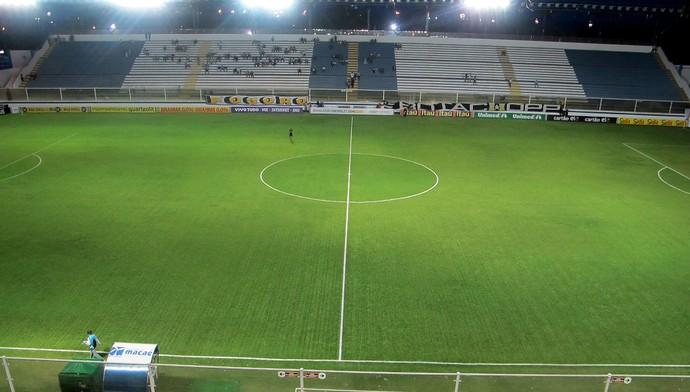 Estádio moacyrzão botafogo e Vitória (Foto: Gustavo Rotstein)