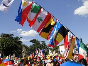 Elenco vai envolver voluntários de todo o mundo (Foto: Andressa Gonçalves/ G1)