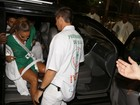 Haja fôlego! Veja, em fotos, todos os momentos de Ivete Sangalo no desfile da Grande Rio, na Sapucaí