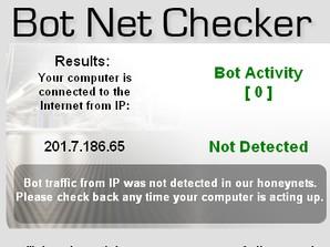 Bot Net Checker