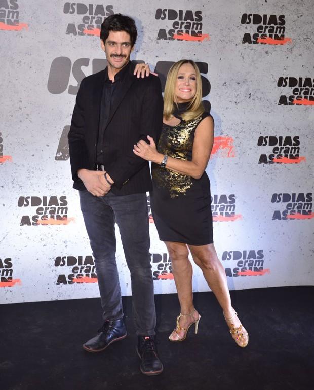 Júlio Machado e Susana Vieira (Foto: Fabio Cordeiro/Ed. Globo)