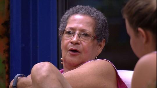 Geralda aceita pedido de desculpa de Maria Claudia e solta: 'Você foi influenciada'