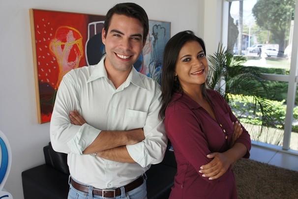 Rubens e janaína (Foto: Alysson Bernardo/TV Cabo Branco)