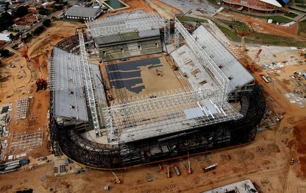 Arena Pantanal outubro de 2013 (Foto: Edson Rodrigues/Secopa-MT)