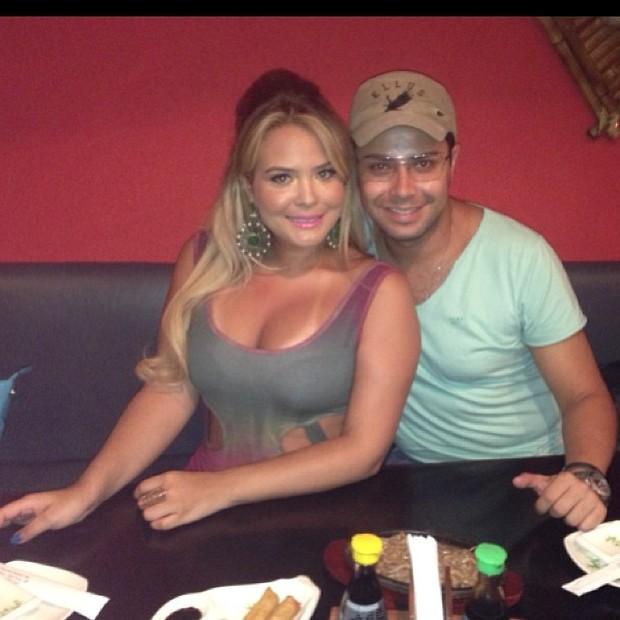 Geisy Arruda e Roger Fernandez (Foto: Reprodução/Instagram)