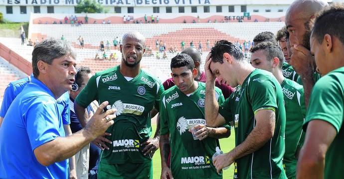 Marcelo Veiga, Guarani x Rio Branco (Foto: Rodrigo Villalba/ Divulgação Guarani)