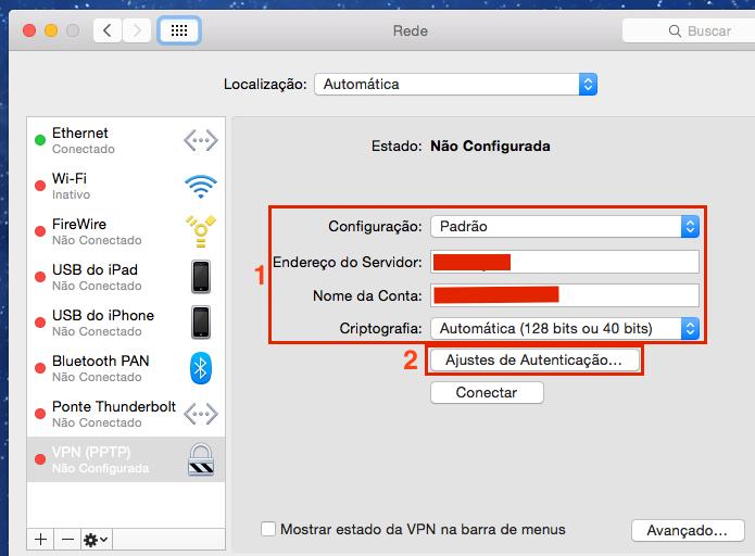 Configurando os dados da conta VPN (Foto: Reprodução/Edivaldo Brito)