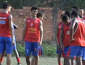 Americano treina para Campeonato Maranhense (Foto: Reprodução/TV Mirante)