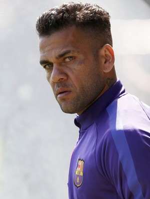 Daniel Alves Barcelona (Foto: Reuters)