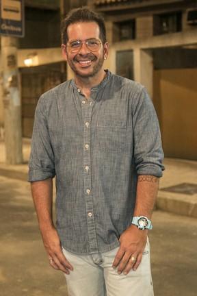 Leandro Hassum: mais magro e feliz (Foto: Paulo Belote/Globo)
