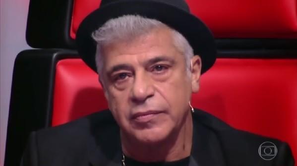 Lulu chorou ao fim da performance de  (Foto: Reprodução/ TV Globo)