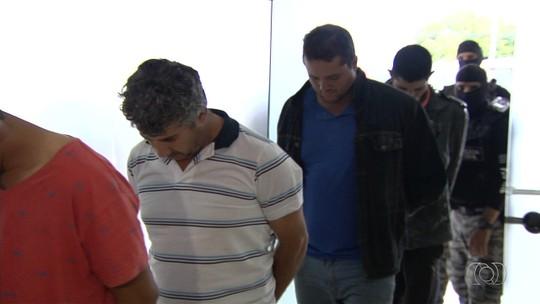 Polícia prende sete suspeitos de praticar roubos a bancos em Goiás