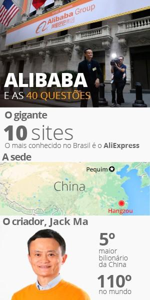 V2 alibaba e as 40 questões selo  (Foto: Editoria de Arte/G1)