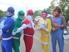 Power Rangers, astronauta, homem-bomba; veja as fantasias do Corso