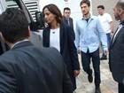 Camila Pitanga e elenco de 'Velho Chico' vão a velório de Montagner
