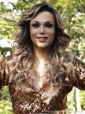 Mariana comemorou a participação na novela (Foto: Salve Jorge/TV Globo)
