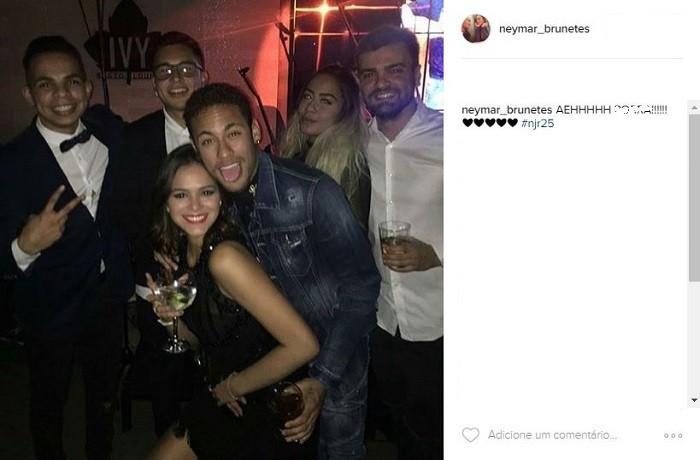 Neymar's birthday