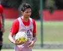 Com dores no joelho, Durval é vetado para jogo do Sport contra o Cruzeiro