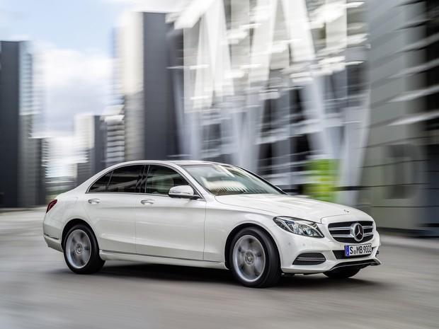 Mercedes Classe C novo (Foto: Divulgação)