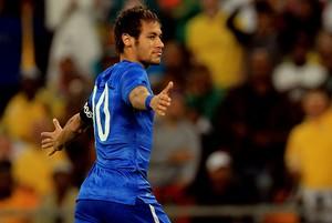 Neymar brasil África do Sul amistoso (Foto: Agência AP)