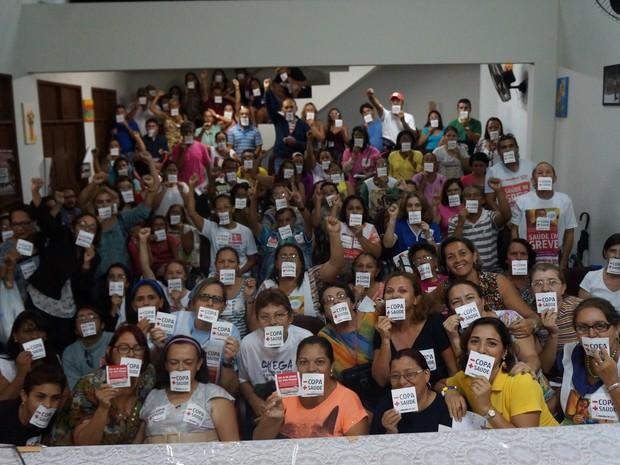 Servidores da Saúde de Natal encerram greve (Foto: Divulgação/ Sinsaúde)