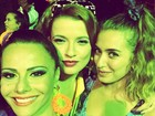 Atrizes de 'Império' fazem selfie com Viviane Araújo em festa de aniversário