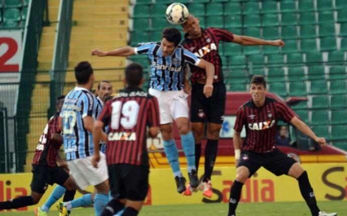 atlético-pr grêmio brasileiro  (Foto: Gustavo Oliveira/site Atlético-PR)
