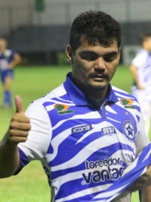 Jânio Daniel, atacante do Parnahyba (Foto: Wenner Tito)