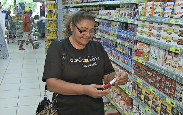 Acreanos poderão consumir a barra de cereal feita com ingredientes da floresta amazônica (Foto: Bom Dia Amazônia)