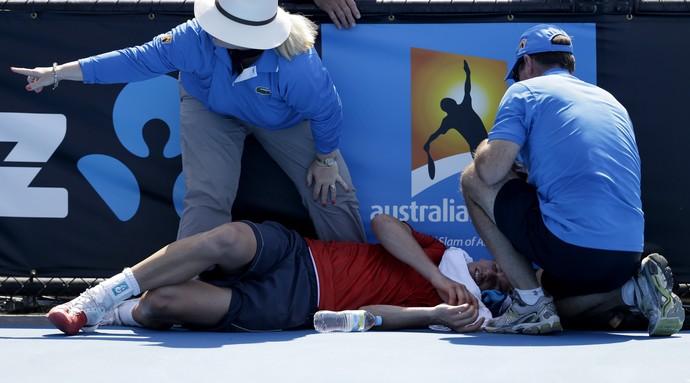 tênis frank dancevic aberto da austrália (Foto: AP)