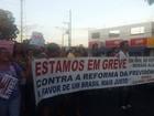 Uberlândia tem mais um ato contra reformas da Previdência e Trabalhista