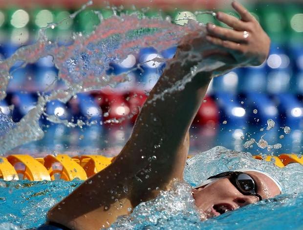 Manuella Lyrio Tentativa Olímpica da Natação (Foto: Satiro Sodré / Agif)