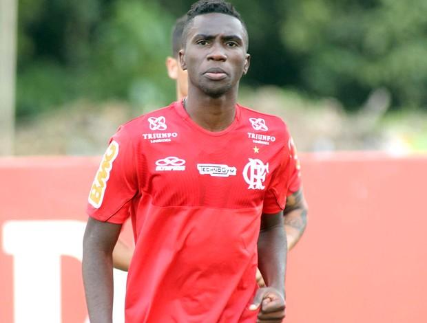 Negueba Flamengo (Foto: Bernardo Monteiro / VipComm)