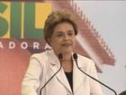 Dilma volta a criticar o processo de impedimento no Congresso