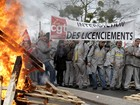 Trabalhadores da Renault fazem protesto na França