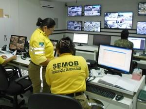 Imagens das câmeras de monitoramento estão disponíveis no site da Prefeitura de Natal (Foto: Divulgação/Assessoria Prefeitura de Natal)