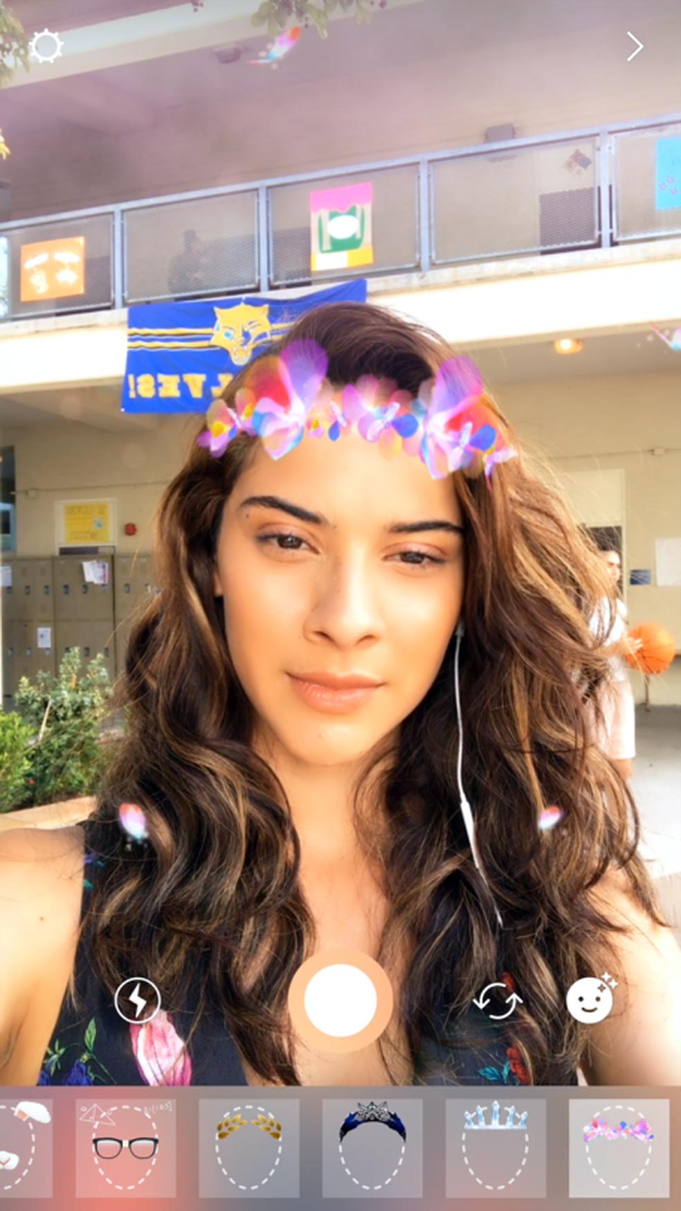 Instagram introduz filtros no modo Stories (Foto: Divulgação/Instagram)
