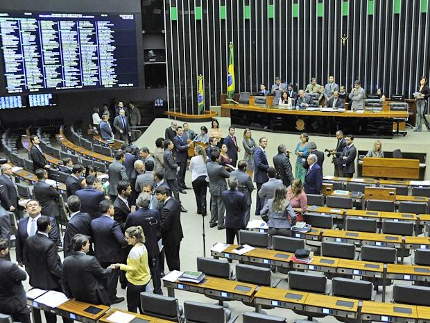 Plenário da Câmara dos Deputados em sessão desta quinta-feira (16) (Foto: Maryanna Oliveira / Câmara dos Deputados)