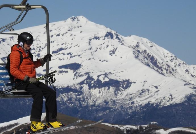 Estação de ski segue aberta enquanto a competição é realizada em área separada (Foto: Thierry Gozzer)